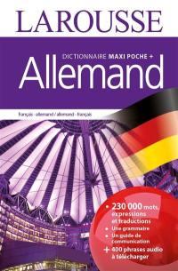 Dictionnaire maxipoche + allemand : français-allemand, allemand-français