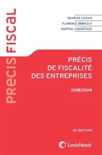 Précis de fiscalité des entreprises 2018-2019