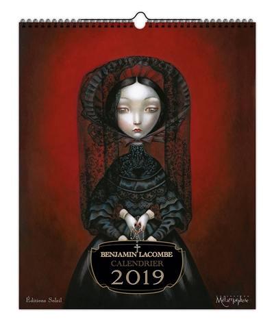 Benjamin Lacombe : calendrier 2019
