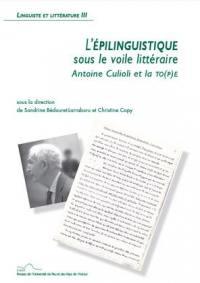 L'épilinguistique sous le voile littéraire