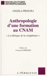 Anthropologie d'une formation au Conservatoire national des arts et métiers : la fabrique de la compétence