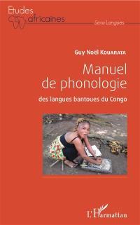 Manuel de phonologie des langues bantoues du Congo