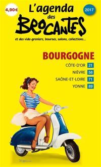 L'agenda des brocantes Bourgogne. n° 2017