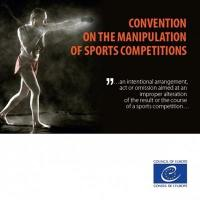 Council of Europe Convention on the manipulation of sports competitions = Convention du Conseil de l'Europe sur la manipulation de compétitions sportives