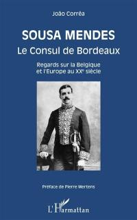 Sousa Mendes, le consul de Bordeaux : regards sur la Belgique et l'Europe au XXe siècle