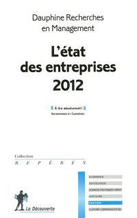 L'état des entreprises 2012