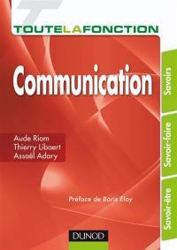 Toute la fonction communication
