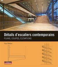 Détails d'escaliers contemporains