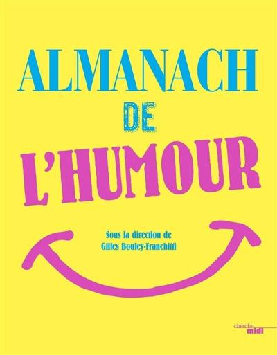 L'almanach de l'humour