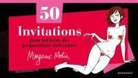 50 invitations pour lui faire des propositions indécentes