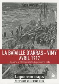 La bataille d'Arras-Vimy