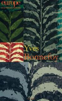 Europe. n° 1067, Yves Bonnefoy