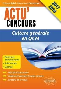 Culture générale en QCM 2017-2018