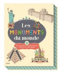 Les monuments du monde : 6 superbes constructions à monter et à collectionner