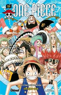 One Piece. Volume 51, Les onze supernovae