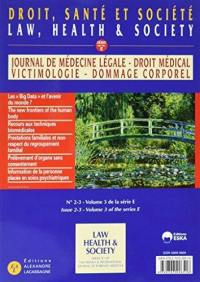 Journal de médecine légale, droit médical, victimologie, dommage corporel. n° 60-1