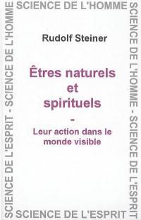 Les entités naturelles et spirituelles