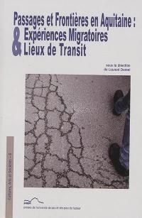 Passages et frontières en Aquitaine