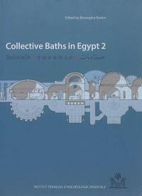 Collective baths in Egypt. Volume 2, New discoveries and perspectives
