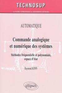 Commande analogique et numérique des systèmes