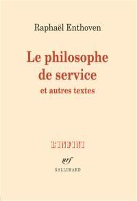 Le philosophe de service
