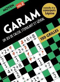 Garam, un jeu de calcul stimulant et génial : moyen 2