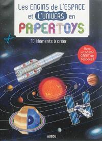 Les engins de l'espace et l'univers en papertoys : 10 éléments à créer