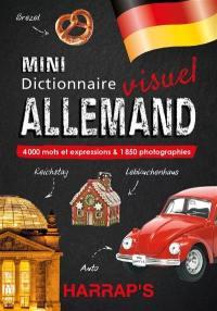 Mini dictionnaire visuel allemand : 4.000 mots et expressions & 1.850 photographies