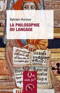 La philosophie du langage