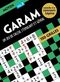 Garam, un jeu de calcul stimulant et génial : moyen 3