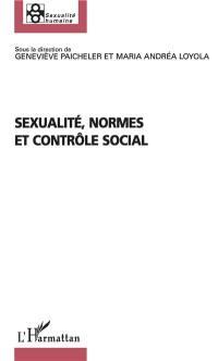 Sexualité, normes et contrôle social