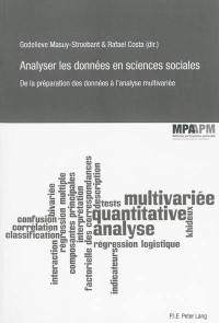 Analyser les données en sciences sociales : de la préparation des données à l'analyse multivariée