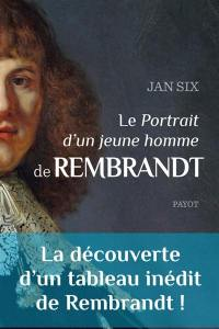 Le Portrait d'un jeune homme de Rembrandt