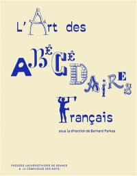 Art des abécédaires français