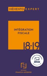 Intégration fiscale 2018-2019