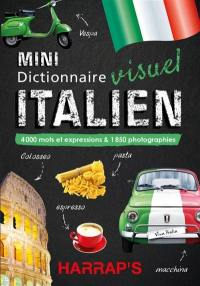 Mini dictionnaire visuel italien : 4.000 mots et expressions & 1.850 photographies
