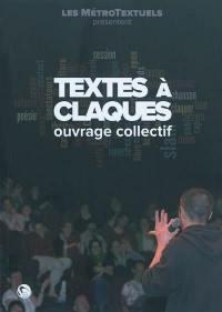Textes à claques