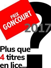 Qui c'est qui va l'avoir ? Goncourt 2017