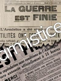 centième anniversaire de l'Armistice Grande Guerre